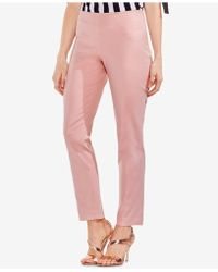 Vince Camuto - Straight-leg Ankle Trousers - Lyst