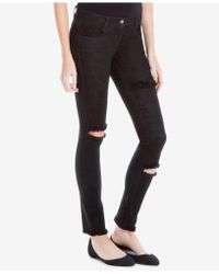 Max Studio - Distressed Skinny Jeans, Created For Macy's - Lyst
