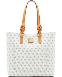 Dooney & Bourke Blakely Signature Pammy Tote - Multicolour