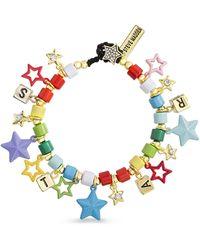 Steve Madden Multi-colored Star Bracelet - Metallic