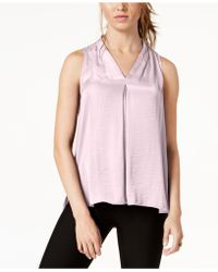 Vince Camuto - Inverted-pleat Top, Created For Macy's - Lyst