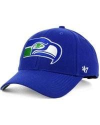 47 Brand Seattle Seahawks Mvp Cap - Blue