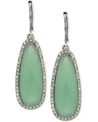 Lonna & Lilly - Large Stone Drop Earrings - Lyst