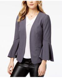Kensie - Bell-sleeve Blazer - Lyst