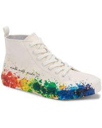 Dolce Vita X Trevor Project Brycen Lace-up High-top Pride Sneakers - Multicolor