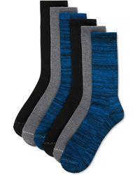 Cole Haan 6-pk. Crew Socks - Blue