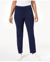 Karen Scott - Pull-on Comfort Pants, Created For Macy's - Lyst
