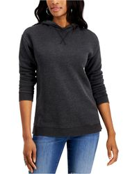Style & Co. Hoodie Sweatshirt, Created For Macy's - Black