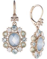 Marchesa - Multi-stone Oval Drop Earrings - Lyst