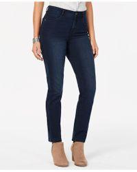 Style & Co. Tummy-control Slim-leg Jeans - Black