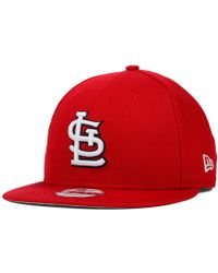 KTZ - St. Louis Cardinals 2-tone Link 9fifty Snapback Cap - Lyst