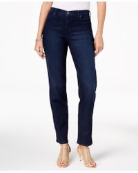 Style & Co. - Tummy-control High Rise Straight-leg Jeans, Created For Macy's - Lyst