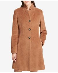 DKNY - Single-breasted Walker Coat, Created For Macy's - Lyst