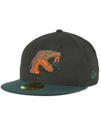 outlet store 8b69f c23f5 KTZ Georgia Tech Yellow Jackets Ncaa Ac 59Fifty Cap in Blue for Men - Lyst