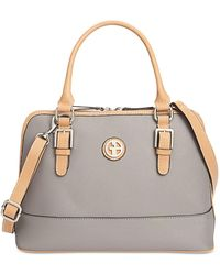 Giani Bernini - Saffiano Dome Satchel, Only At Macy's - Lyst
