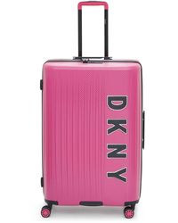 """DKNY Blaze 24"""" Check-in Luggage, Created For Macy's - Pink"""