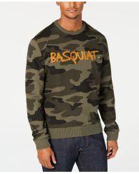 Sean John - Basquiat Tricolor Chenielle Sweater, Created For Macy's - Lyst