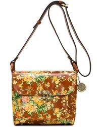 Patricia Nash Leandra Flap Leather Crossbody - Multicolor