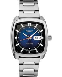 Seiko Men's Automatic Recraft Series Stainless Steel Bracelet Watch 40mm - Multicolor