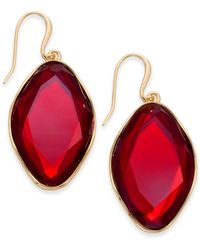 Style & Co. - Stone Drop Earrings, Created For Macy's - Lyst