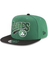 KTZ - Boston Celtics Retro Tail 9fifty Snapback Cap - Lyst