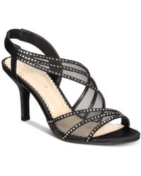 Charter Club Chartlette Evening Sandals, Created For Macy's - Black