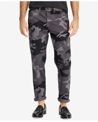 Polo Ralph Lauren - Camouflage Stretch Chino Pants - Lyst