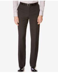 Perry Ellis - Men's Classic-fit Non-iron Performance Nailhead Dress Trousers - Lyst