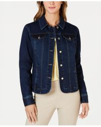 Charter Club - Denim Jacket, Created For Macy's - Lyst