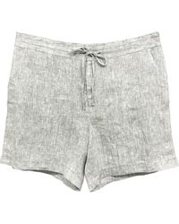 Charter Club Pull-on Shorts, Created For Macy's - Gray