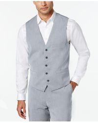 INC International Concepts - Marrone Vest - Lyst