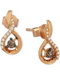 Le Vian - Diamond Drop Earrings (1/5 Ct. T.w.) In 14k Rose Gold - Lyst