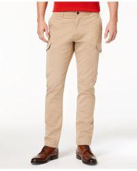 Michael Kors - Men's Slim-fit Cargo Trousers - Lyst