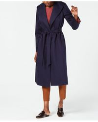 Eileen Fisher - Organic Cotton Belted Coat - Lyst