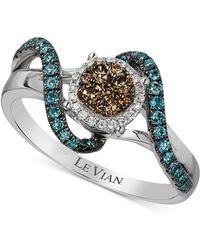 Le Vian - Diamond Ring (1/2 Ct. T.w.) In 14k White Gold - Lyst