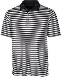 Cutter & Buck - Forge Multi Stripe Polo Shirt - Lyst