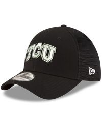 save off ea140 18a29 KTZ - Texas Christian Horned Frogs Black White Neo 39thirty Cap - Lyst