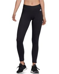 adidas Must Have 3-stripe Tights - Black