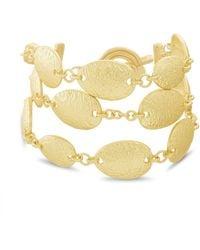 Catherine Malandrino Oval Link Toggle Chain Bracelet - Metallic