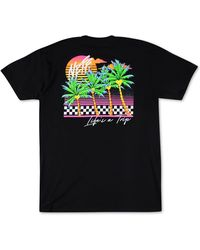 Neff Life's A Trip Graphic T-shirt, Created For Macy's - Black