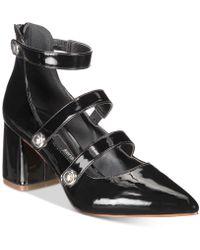 Kensie - Arlo Block-heel Pumps - Lyst