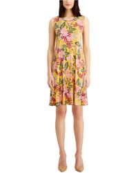 Style & Co. - Floral-print Dress, Created For Macy's - Lyst