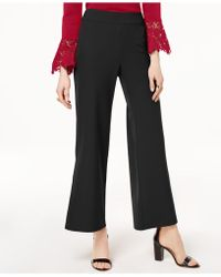 INC International Concepts - I.n.c. Wide-leg Side-slit Pants, Created For Macy's - Lyst