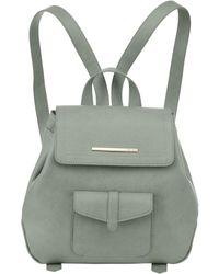 Kensie Boho Lightweight Rucksack Backpack - Green