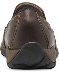 Eastland Sage Sport Slip-on Flat Sandal - Brown