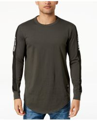 G-Star RAW - Swando Stripe Logo Long Sleeve T-shirt, Created For Macy's - Lyst