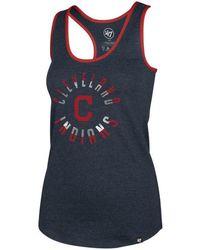 47 Brand Cleveland Indians Clutch Club Tank - Blue