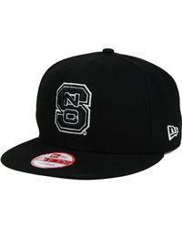 new arrival 80c44 2932f KTZ Carolina Panthers Classic Xl Logo 9fifty Snapback Cap in Black for Men  - Lyst