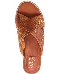 Lucca Lane - Sonya Slide Sandals - Lyst