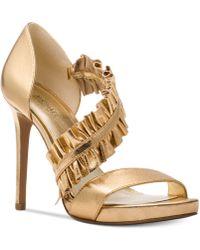Michael Kors   Bella Platform Sandals   Lyst